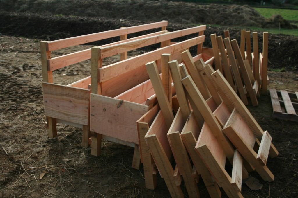 auges en bois